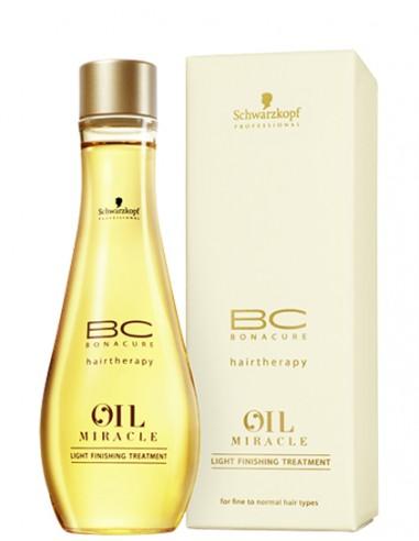 Schwarzkopf Oil Miracle Light Finishing Treatment aliejus