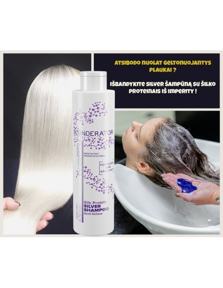 Pilkinantis šampūnas
